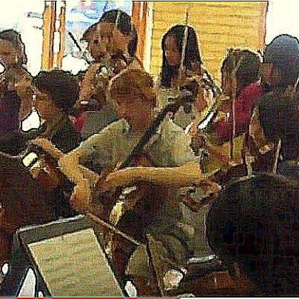 Workshop at the Yehudi Menuhim School, U.K.