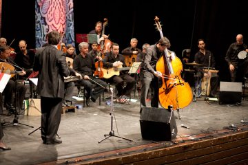 Double Bass and Orchestra – the Middle Eastern Version